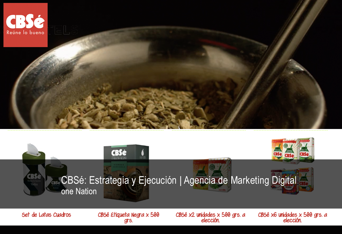 CBSé: Estrategia y Ejecución | Agencia de Marketing Digital